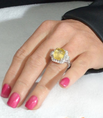 Jenny McCarthy's Engagement Manicure! – Amanda Bella