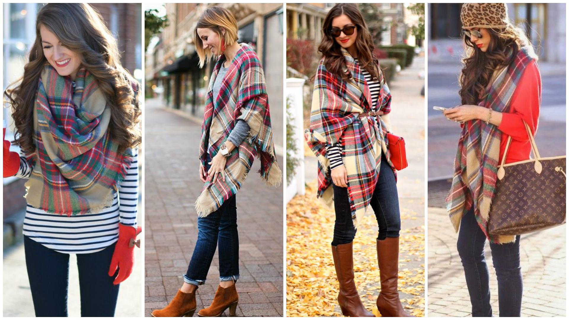 The Blanket Scarf Amanda Bella