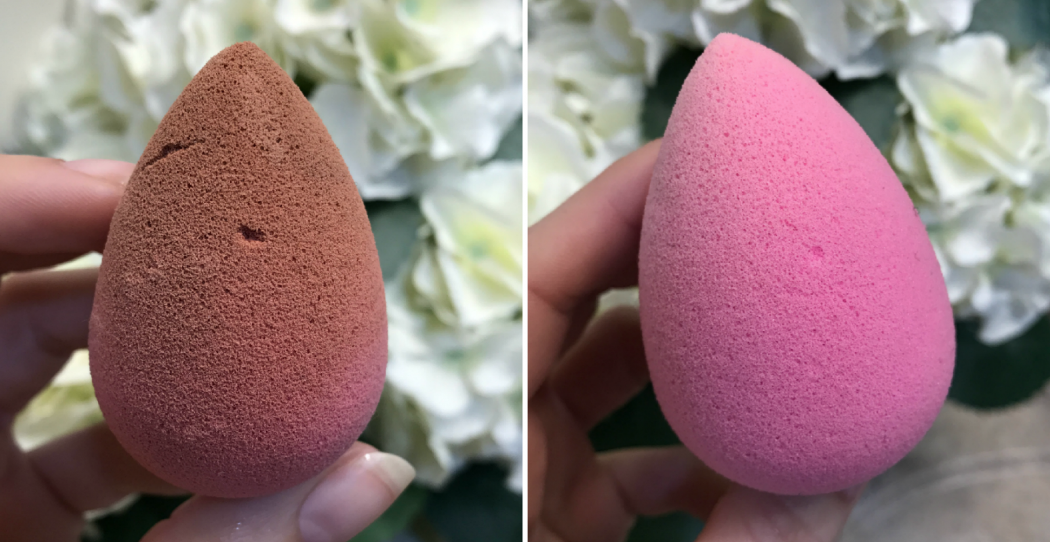beauty blender cleaning hack